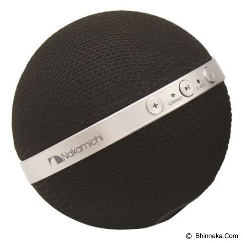 NAKAMICHI Bluetooth Speaker [NBS 10] - Black - Speaker Bluetooth & Wireless
